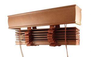 żaluzje drewniane w wersji 50mm